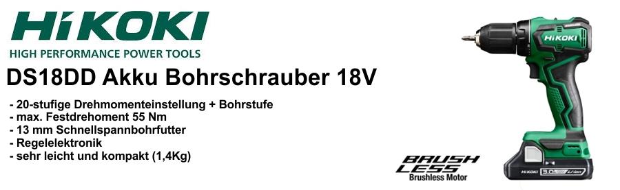 HiKOKI Akku-Borschrauber DS18DD 18V