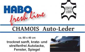 HABO Chamois Auto-Leder 60x40 cm