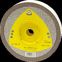 Schleifgewebe Rolle KL 385 JF braun 40x50.000 K120
