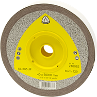 Schleifgewebe Rolle KL 385 JF braun 40x50.000 K240
