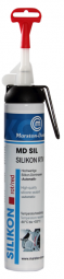 MD SIL Silikon-Dichtmasse rot A 200 ml