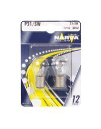 NARVA Brems-/Schlusslichtl. 12V 21/4W BAZ15d Bl.