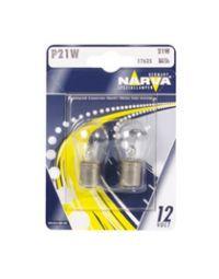 NARVA Kugellampe 12V 21W BA15s Blister