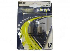 NARVA Kugellampe 12V 5W BA15s Blister