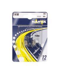 NARVA Anzeigelampe 12V 4W T4W Blister 2