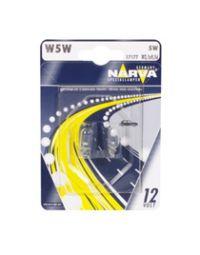 NARVA Glassockellampe 12V 5W W2,1x9,5d Blister