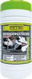 PETEC Reinigungstücher - Box 120 Tücher
