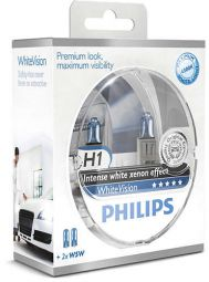 PHILIPS WhiteVision H1 12258WHVSM, 2er-Set
