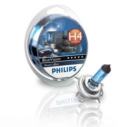 PHILIPS BlueVision H4 12342BVSM, 2er-Set
