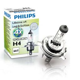 PHILIPS LongLife EcoVision H4 12342LLECOC1
