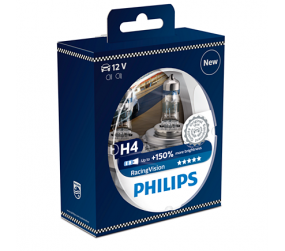PHILIPS Racing Vision H4 12342RVS2, 2er-Kit