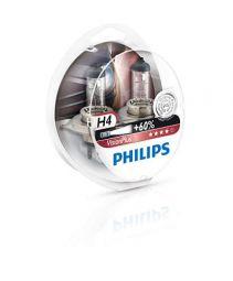 PHILIPS VisionPlus +60% H4 12342VPS2, 2er-Set