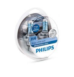 PHILIPS WhiteVision ultra H4 12342WVUSM, 2er-Set