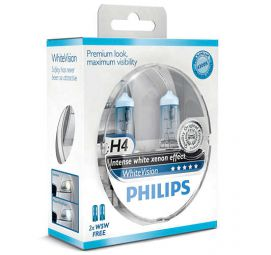 PHILIPS WhiteVision H4 12342WHVSM, 2er-Set