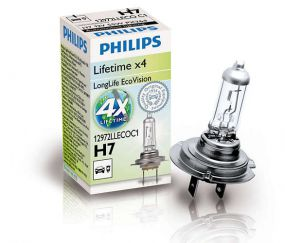 PHILIPS LongLife EcoVision H7 12972LLECOC1