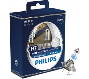 PHILIPS Racing Vision H7 12972RVS2, 2er-Kit