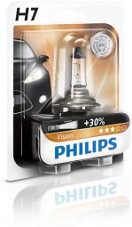 PHILIPS Vision H7 12V 55W PX26d Blister 1