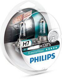 PHILIPS X-tremeVision +130% H7 12972XV+S2, 2er-Set