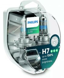 PHILIPS X-tremeVision Pro150 H7 12972XVPS, 2er-Set