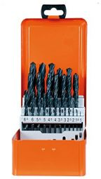 Spiralbohrerkassette HSS DIN338N 25-tlg 1 - 13 mm