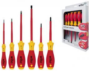 electric Schlitz/Phillips Schraubendrehersatz 6tlg