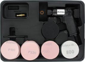 AirApp Exzenterschleifer-Set 75 mm 7.000-15.000U/m
